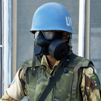 """""""FN-soldat. (Foto: Wikimedia Commons)"""""""