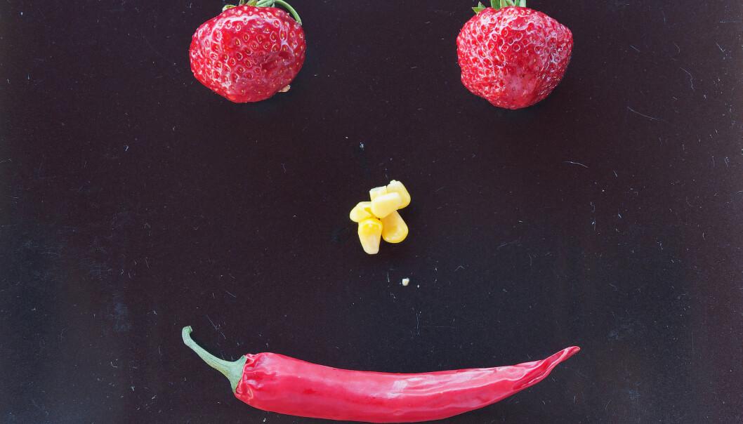 Dagens falske smil gjør kanskje maten litt mer fristende?