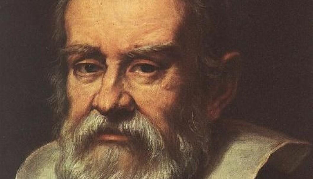 Portrett av Galileo Galilei, malt av Medici maleren Justus Sustermans.