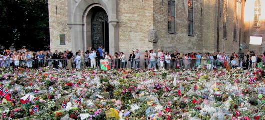 10 år etter 22. juli-terroren: Ritualer bygger demokrati