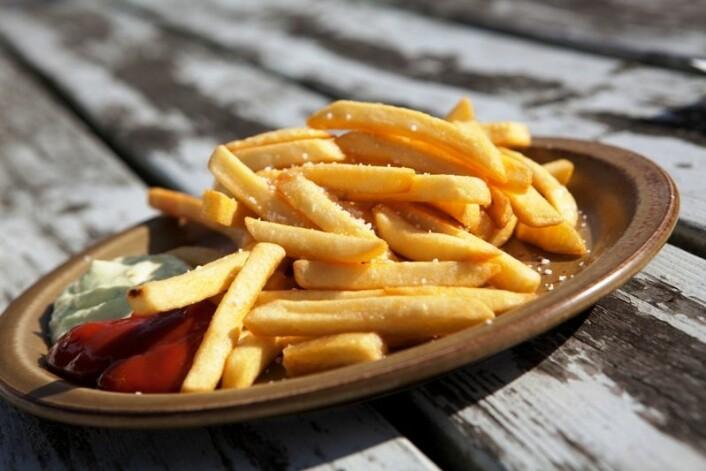 """""""Deltakerne i den svenske studien fikk beskjed om å spise junkfood to ganger om dagen. (Foto: www.colorbox.no)"""""""