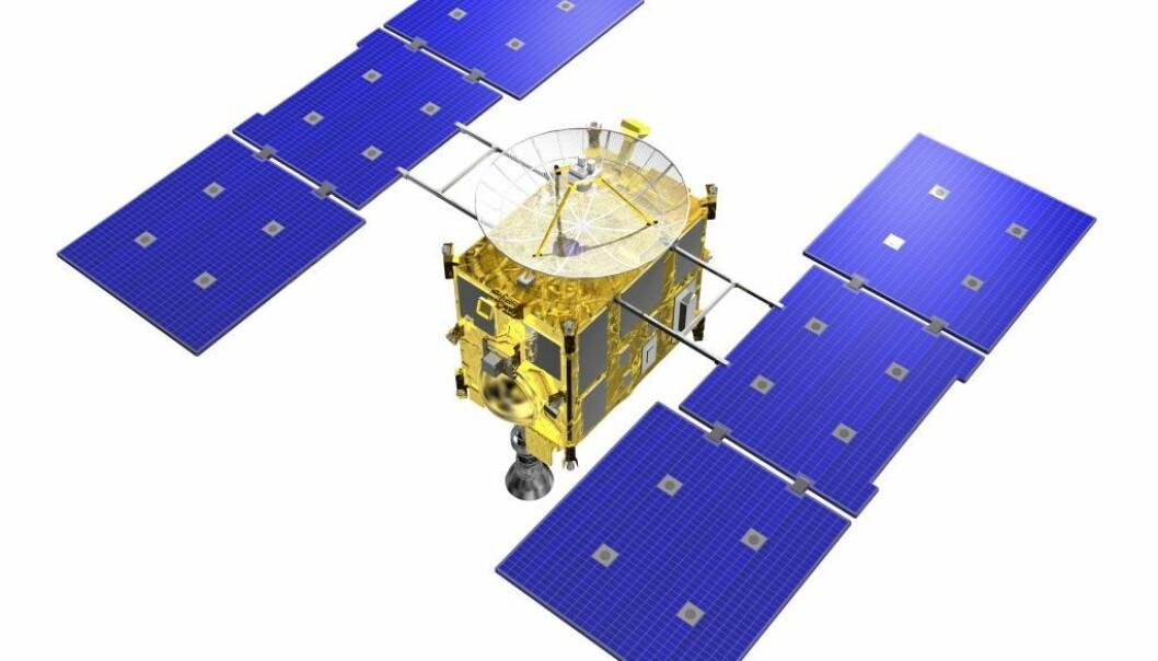 """Romsonden Hayabusa har hatt en problemfylt tur i jakten på materiale fra asteroiden Itokawa."""