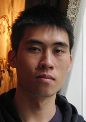 Jia-kai Chou (Foto: Arnfinn Christensen, forskning.no)