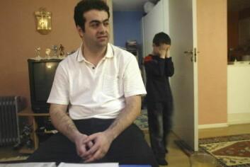 """""""Salim Yildiz og hans sønn Mehmet Yildiz. (Foto: Ørn Borgen / SCANPIX)"""""""
