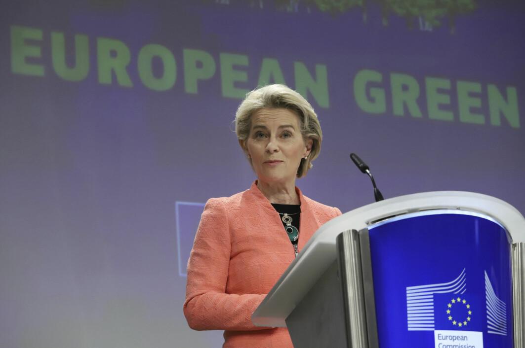 EU-kommisjonens leder Ursula von der Leyen presenterte onsdag det hun betegnet som en historisk pakke med klimatiltak som skal gjøre det mulig å nå målet om å gjøre EU-landene klimanøytrale innen 2050.