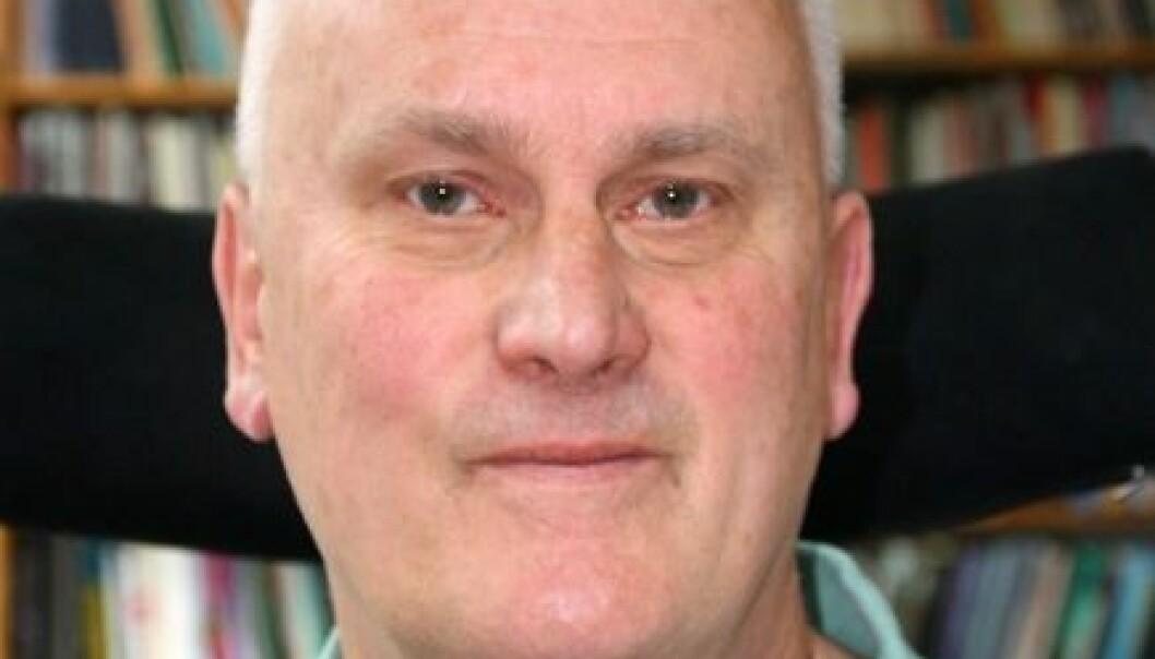 Knut Holtan Sørensen. (Foto: Kristin Engh Førde)