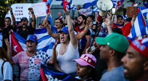 Det koker over hele Cuba: – Dialog med befolkningen er eneste løsning