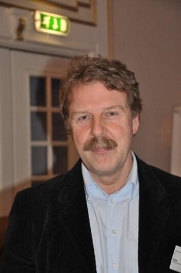 Professor Jürgen Mienert ved Universitetet i Tromsø leder nettverket bak COSMOS-prosjektet. (Foto: Gunn Janne Myrseth, Christian Michelsen Research)