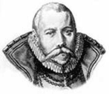 """""""Illustrasjon av Tyco Brahe (1546-1601)."""""""