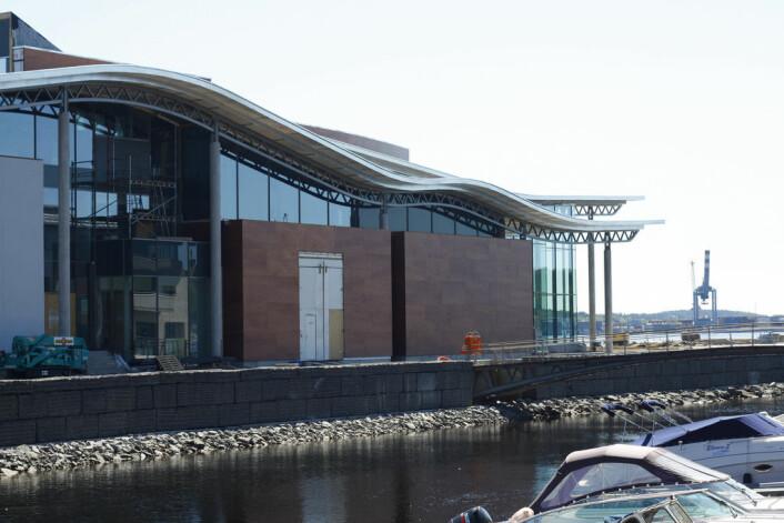 """""""Larvik kulturhus Bølgen er et av kulturhusene som har gått økonomisk i minus, ifølge NRK. (Foto Christoffer Glosli/flickr. Se lisens)"""""""