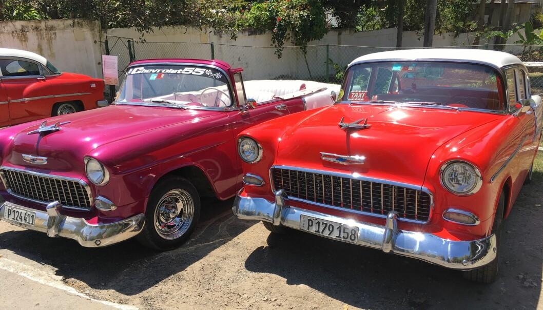 Mange cubaner tjente viktige ekstrainntekter ved å kjøre turister i sine amerikanske veteranbiler før pandemien.