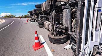 2,5 ganger farligere enn norske yrkessjåfører