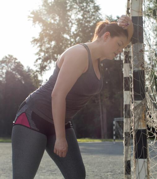 Amerikanske forskere mener pustebesvær under fysisk anstrengelse kan skyldes angst. Vi ser ikke tegn til det i vår forskning