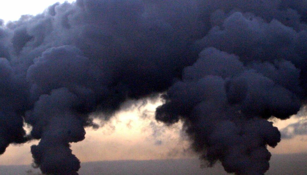 - Forurenset luft skader hjertet