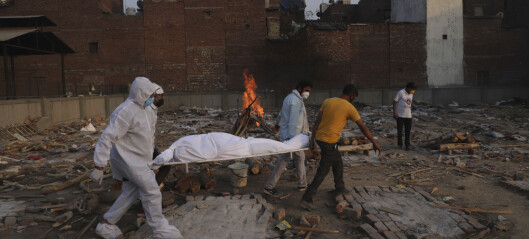 Rapport: Kan være ti ganger så mange koronadødsfall i India