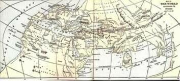 """""""Ptolemeios var ikke bare astronom. Her er et av hans kart."""""""