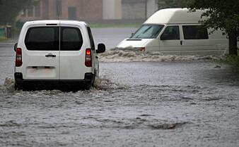 Klimaendringer vil føre til mer intenst regnvær som beveger seg sakte over Europa