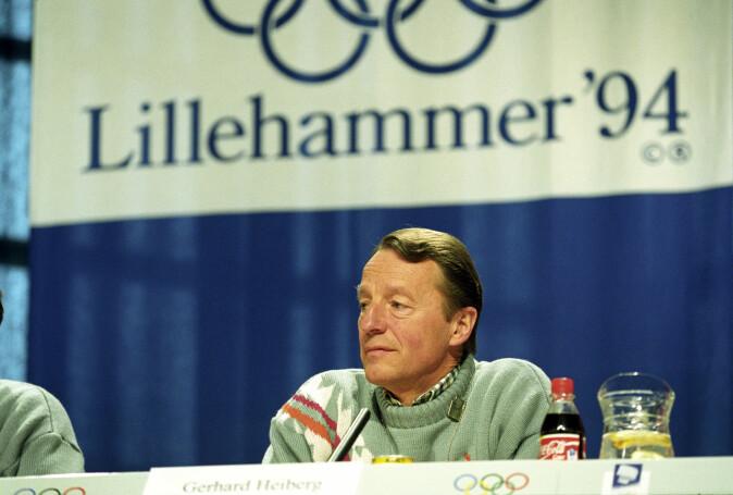Gerhard Heiberg – her på arkivbilde fra 1994 – tror OL-søkerne er for forsiktige i håp om at det skal hjelpe dem å få tildelt arrangementet. Lillehammer-OL er et av dem som har hatt størst budsjettoverskridelser.
