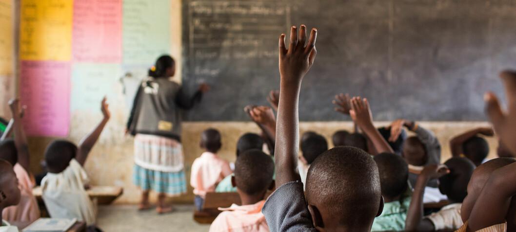 – Mer bistandsmidler bør gå til utdanning