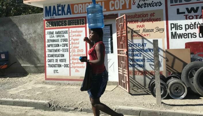 Haiti er et veldig fattig og svært mannsdominert land. Vold mot kvinner er utbredt.
