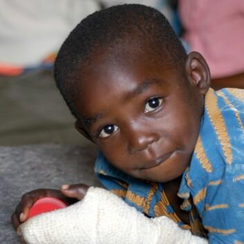 """""""Den demokratiske republikken Kongo, som gutten på bildet er fra, omfattes av områdestudiet til Skattum, som nå kan bli lagt ned."""""""