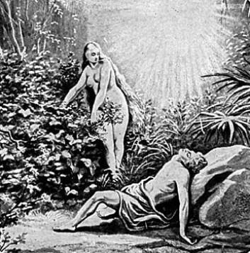 """""""Edens hage, fruktbart sted å høste allegorier."""""""