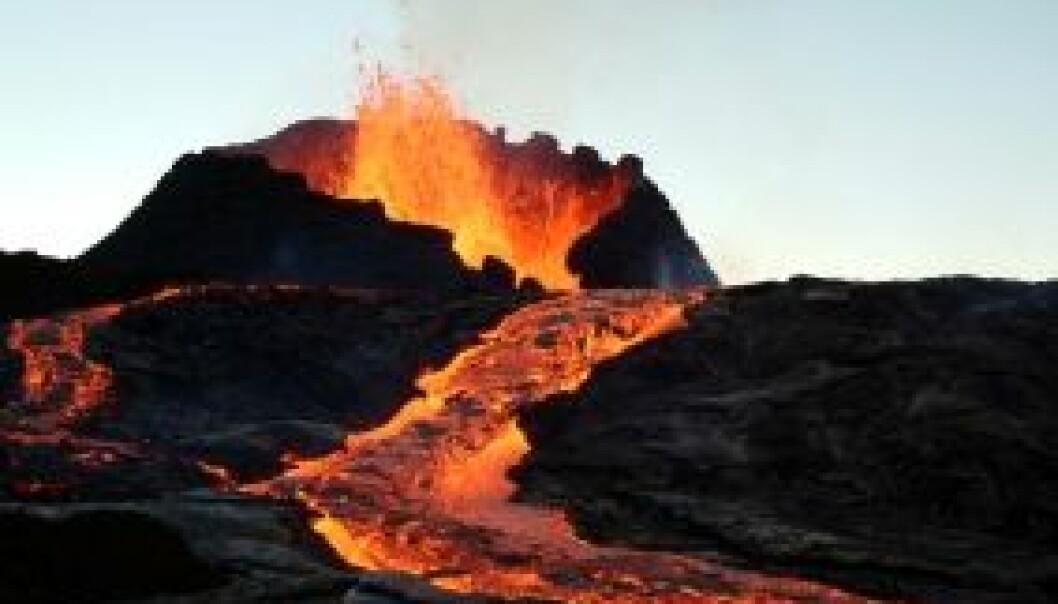 Vulkanutbrudd. (Illustrasjonsfoto: iStockphoto)