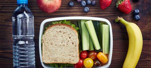 Barn spiste mer frukt og grønnsaker når spisepausen var lang
