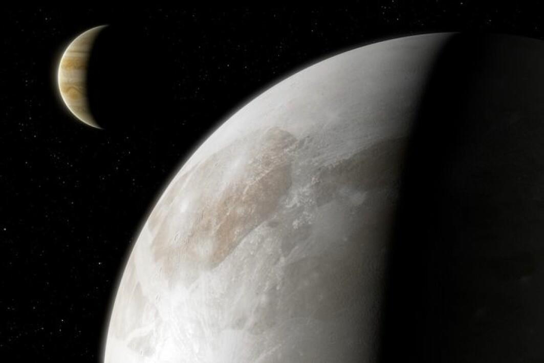 Ganymedes kan ha blitt observert av den kinesiske astronomen Gān Dé sommeren 365 f.Kr. Den første sikre observasjonen ble gjort av Galileo Galilei den 7. januar 1610.