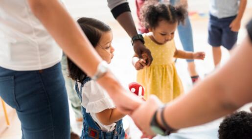 Foreldre bør vise interesse for barnehagen