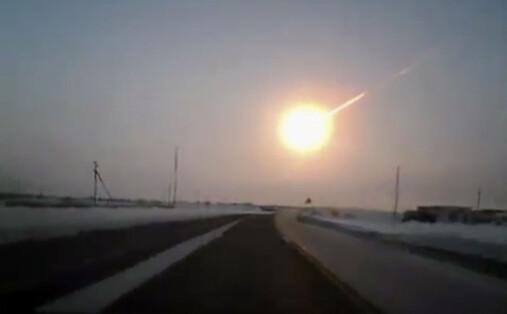 Det er nesten umulig at akkurat du blir truffet av en liten meteoritt