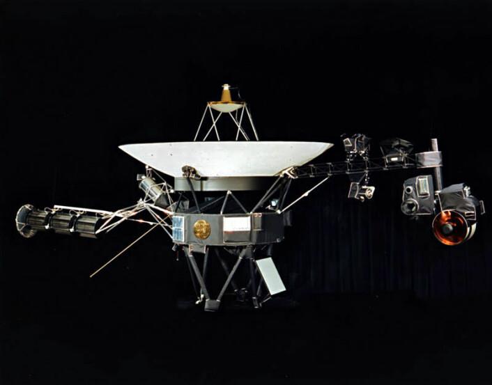 Voyager-romsonden. (Foto:NASA)
