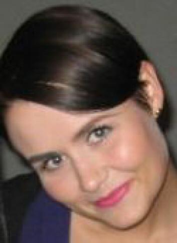 Stipendiat Sunne Ebenesersdóttir ved University of Camerino.