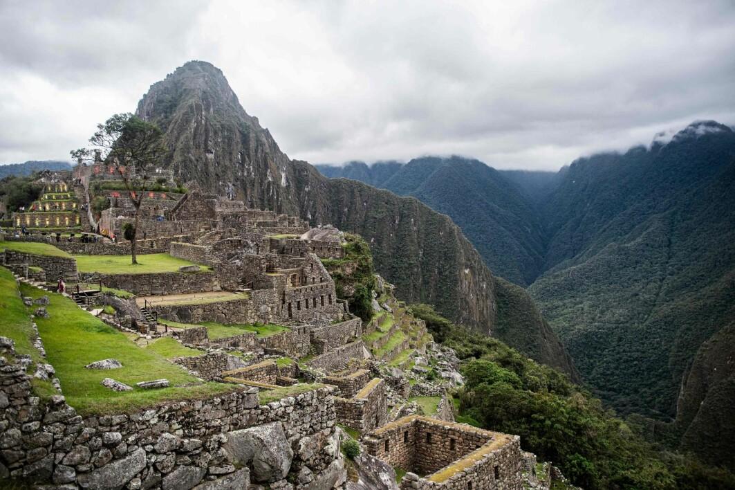 Machu Picchu under gjenåpningen i november 2020, da det ble åpnet for besøkende igjen etter å ha vært stengt i åtte måneder på grunn av korona.
