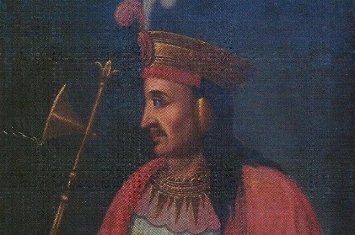 En framstilling av keiser Pachacuti