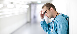 Hver sjuende lege blir utsatt for vold fra pasient