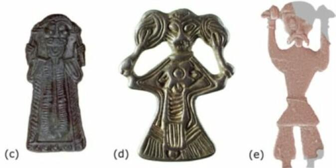 Vikingmannen fra Ribe river seg i håret (e), og han er ikke alene blant europeiske funn.