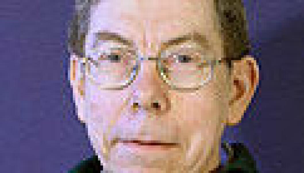 """""""Jon Magne Leinaas, ekspert på kvantefysikk."""""""