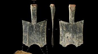 Disse spadepengene kan være de første masseproduserte metallmyntene