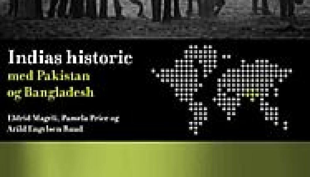 """Bokomslag - Indias historie. Cappelen"""