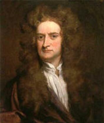 """""""Isaac Newton. Hans fysikk holder fremdeles."""""""