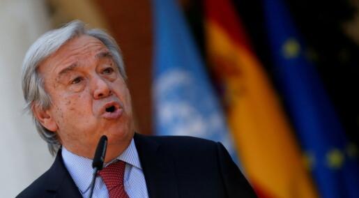 FNs generalsekretær mener klimarapporten må bli dødsstøtet for fossile energikilder