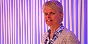 Berit Nicolaisen, prosjektdirektør ved Photocure, har ledet et prosjekt som kan bidra til at mange flere tilfeller av tykktarmskreft oppdages. (Foto: Siw Ellen Jakobsen)
