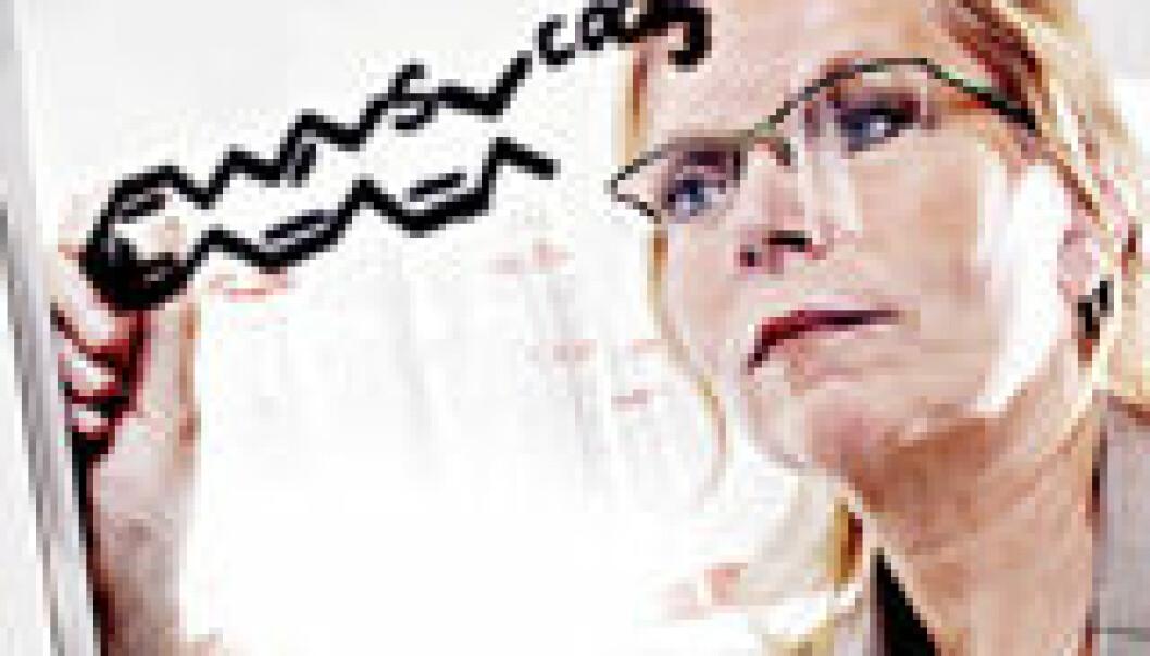 """""""Berit Johansen har arbeidet i 20 år med å få kontroll på kroniske betennelser. (Foto: NTNU Info/Geir Mogen)"""""""