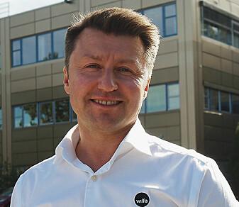 Wilfa-sjef Morten Hoff vil vite mer om hva som skaper klimaavtrykket fra småelektriske produkter.