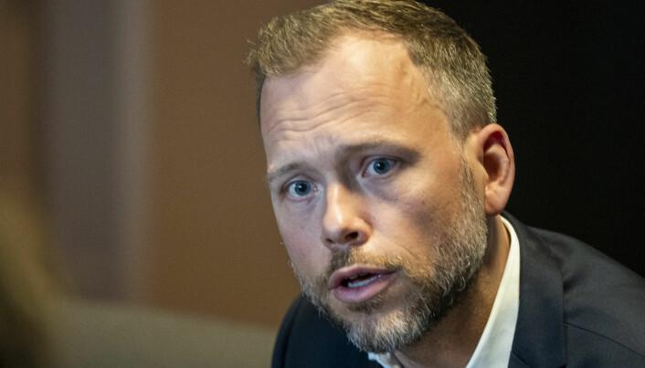 Partileder i Sosialistisk Venstreparti, Audun Lysbakken.