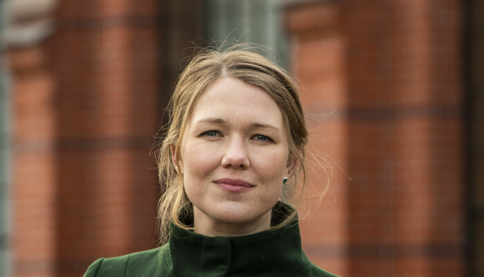 Une Bastholm, leder i Miljøpartiet de Grønne.