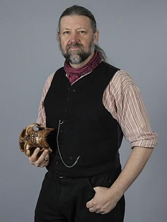 Petter Bøckman ved Naturhistorisk museum forteller at fossiler fra flygende dyr er sjeldne.