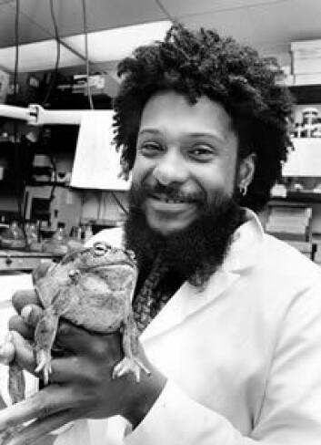 """""""Professor i biologi ved University of Berkeley, Tyrone Hayes.(Foto: Peg Skorpinski/ University of Berkeley)"""""""