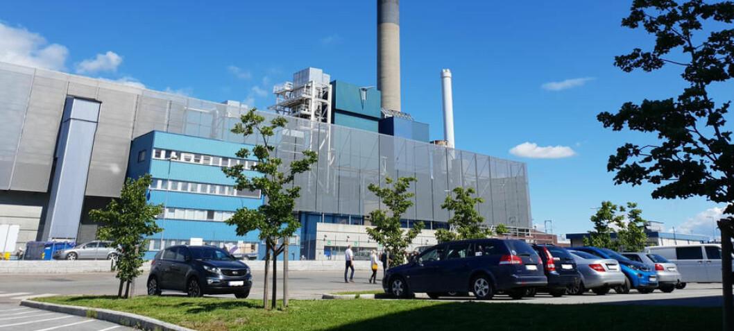 Brent søppel kan bli til klimavennlig betong